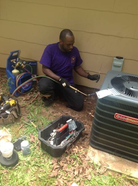 AC repair in North Metro by R Fulton Improvements